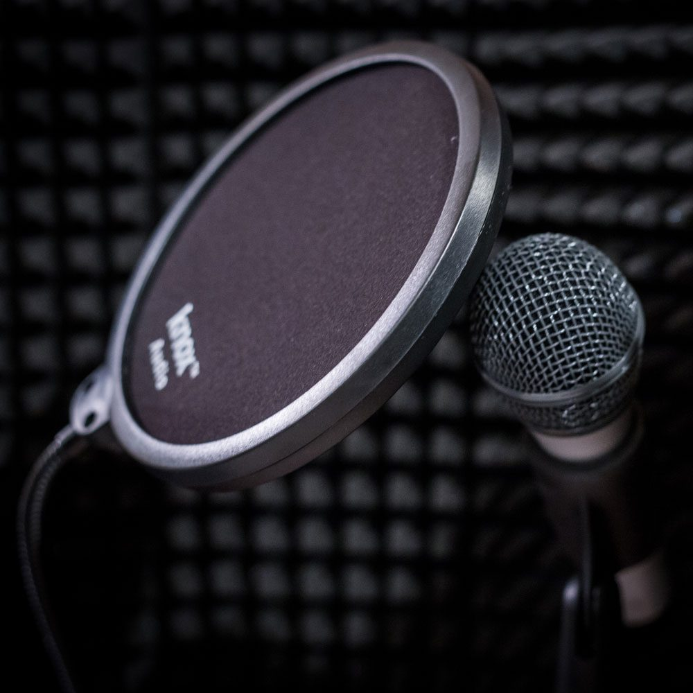 Mic and screen