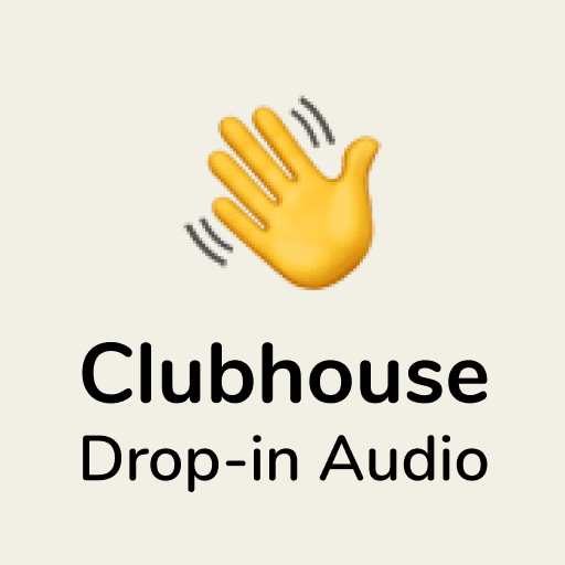 Clubhouse Drop-in Audio Logo