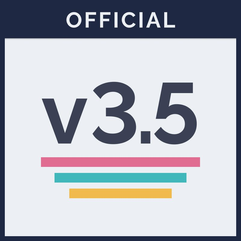 v3.5 Officially Out of Beta