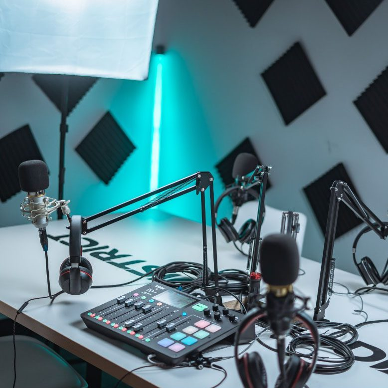 Creating a Podcast Recording Space